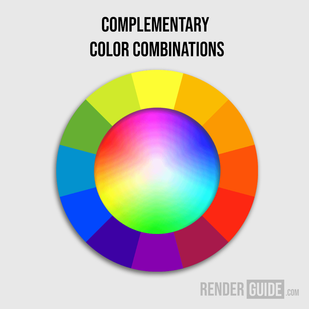 color guide complementary artificial lighting scene environment