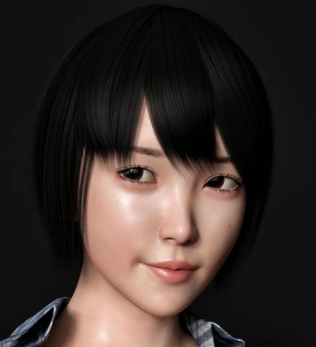 yuan daz3d asian femal character
