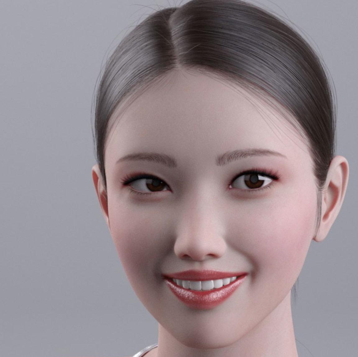 kim seohyun genesis 8 daz3d asian female