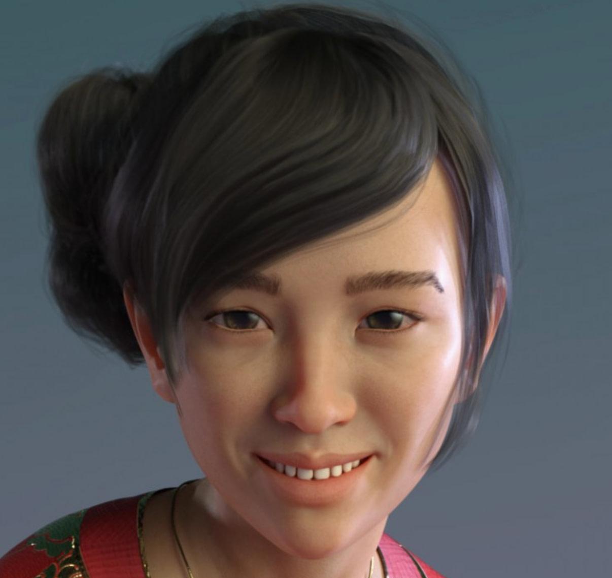 qx eu meh daz asian female