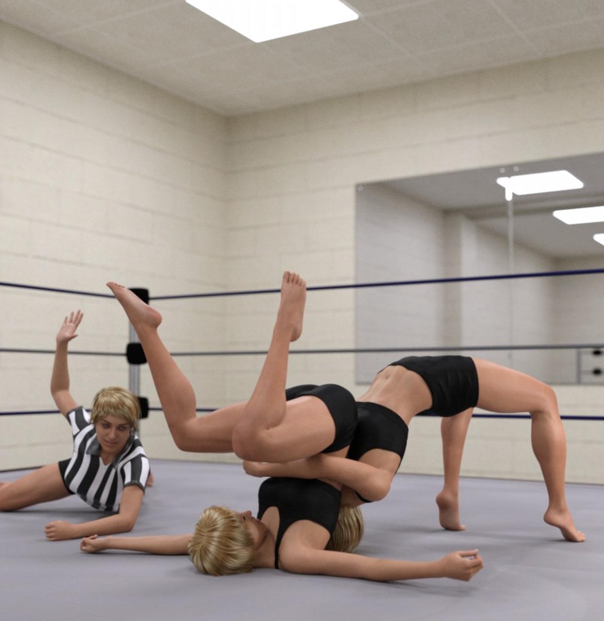 daz3d pro wrestling poses