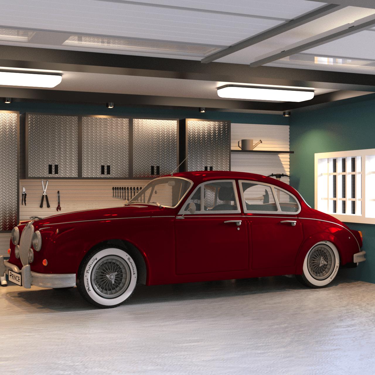 Limousine 3d car model