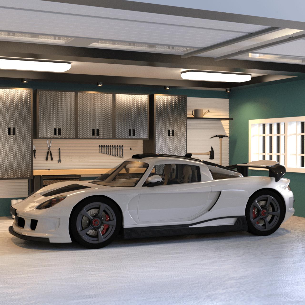 Supercar 3d model