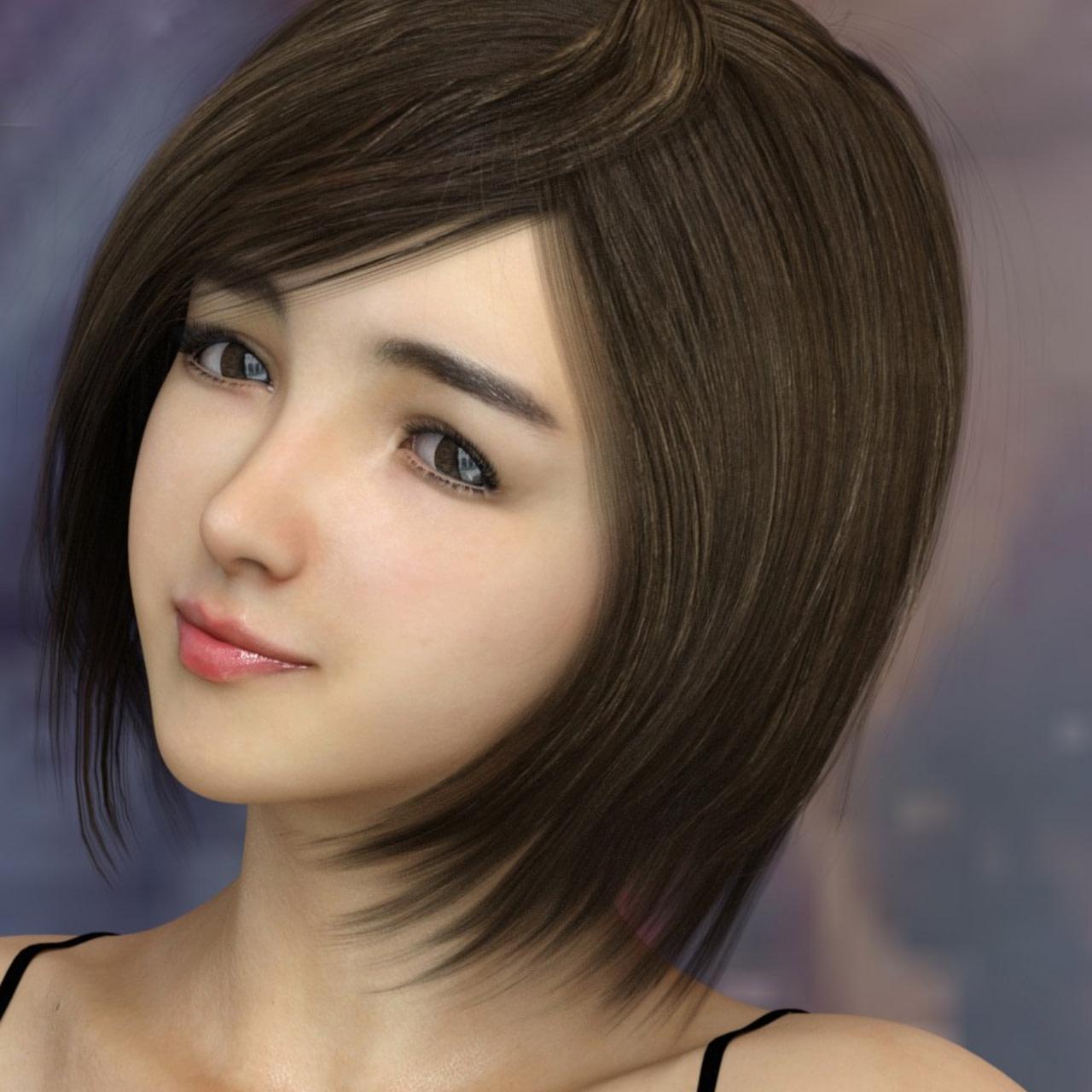 yoyo female daz asian character