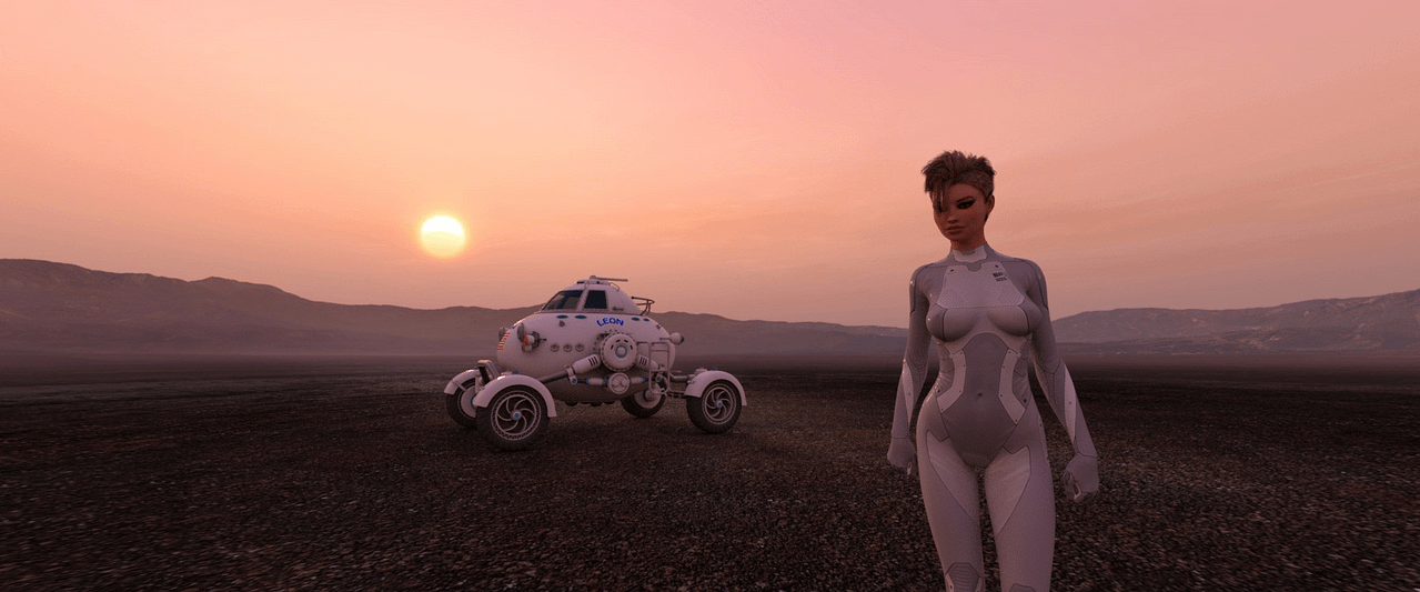 hdri hazy sunsets and desert daz product