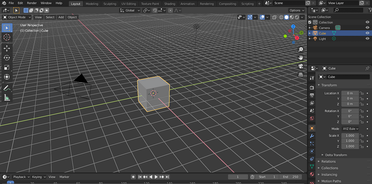 blender user interface overview