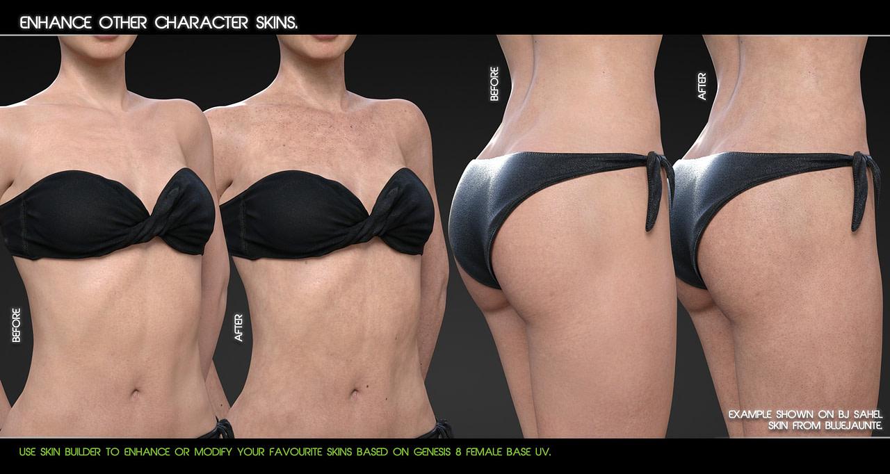 Skin builder for daz studio