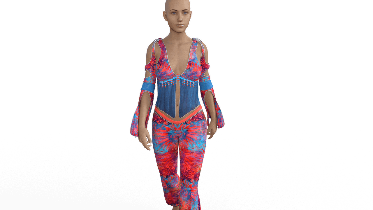 daz genesis 8 figure wearing auto fitted genesis 2 clothes