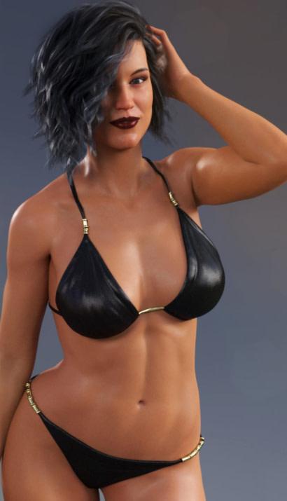 classic bikini daz3d model