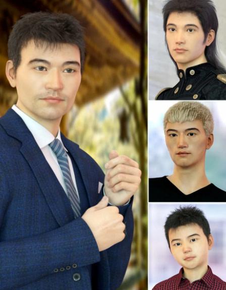 east asian daz3d male genesis