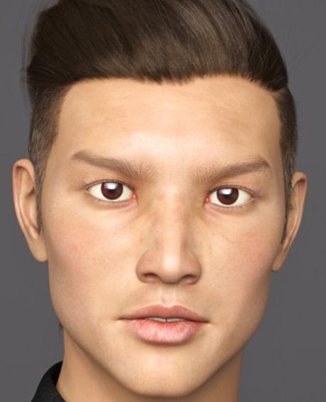 yukio daz3d asian male genesis