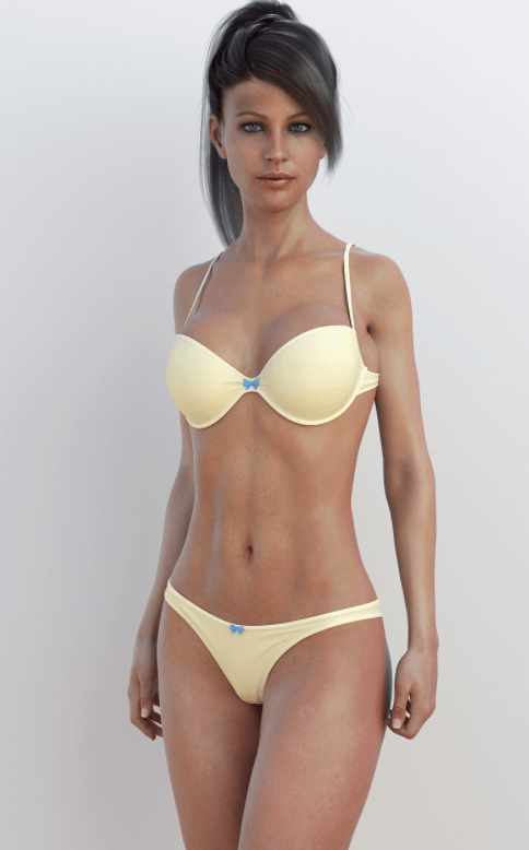 sunny daz3d bikini clothes