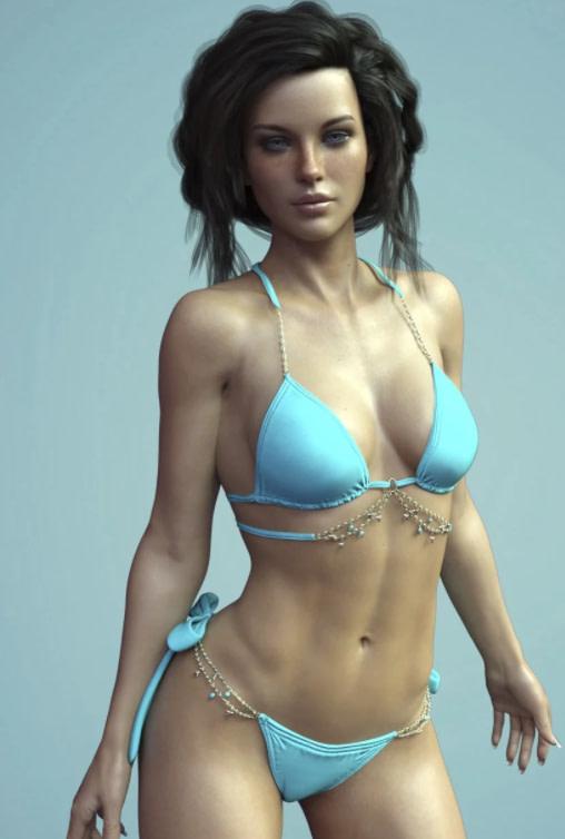 chic bikini daz model