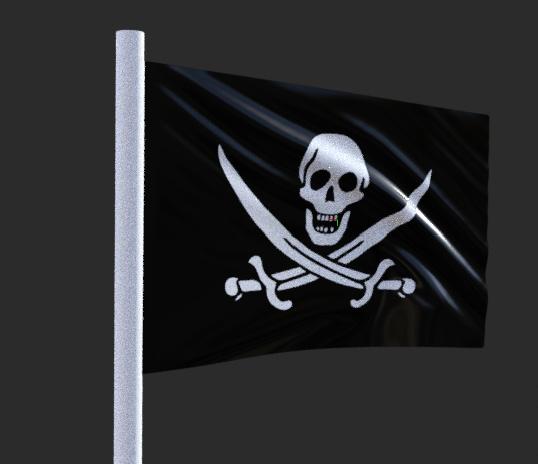 dforce flag - pirate flag