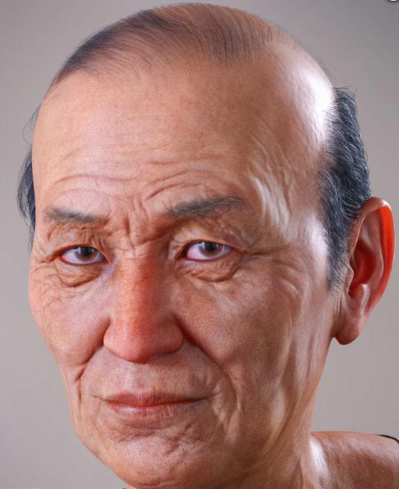mr woo old asian male genesis