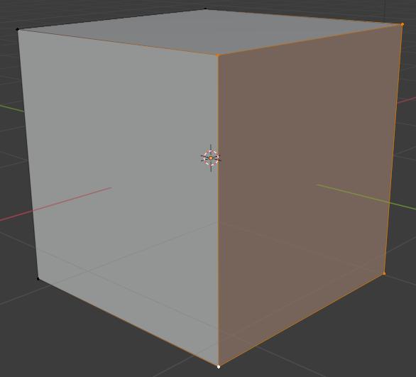 blender basics selecting vertices