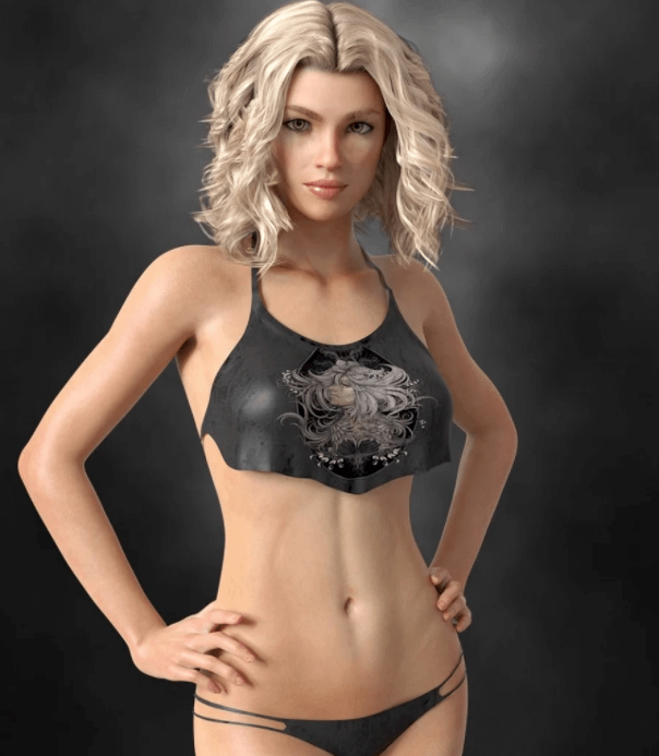 dforce wilder daz3d bikini outfit