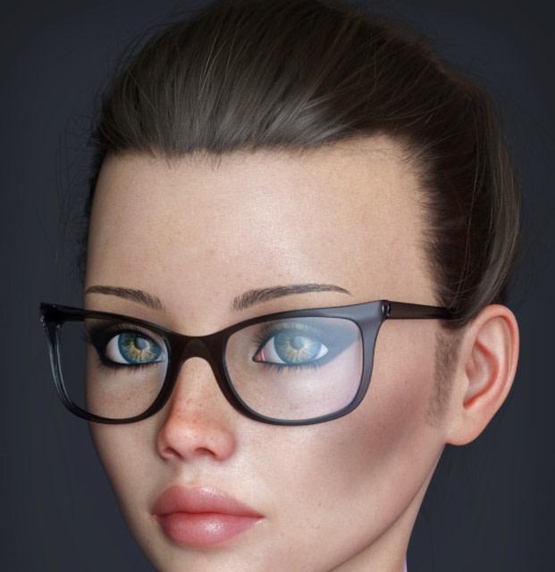 daz alt style glasses genesis