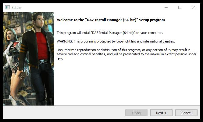 daz install manager DIM