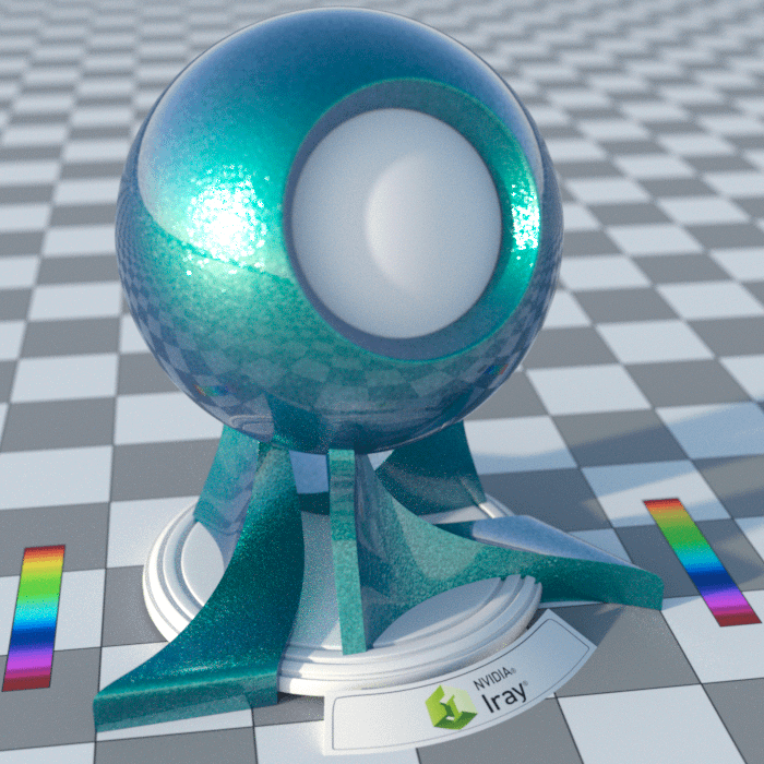Spectral Rendering with natural enabled inside Daz Studio