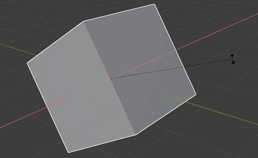 blender basics rotating object