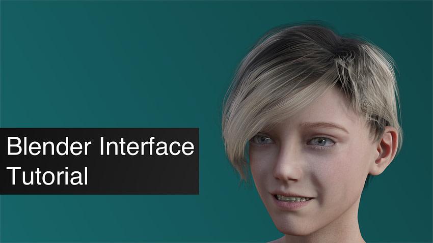 Blender Interface Tutorial for Beginners