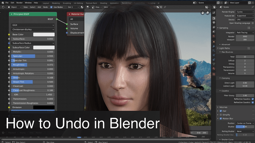 Daz3D Texture Tutorial: All about textures, materials and shaders
