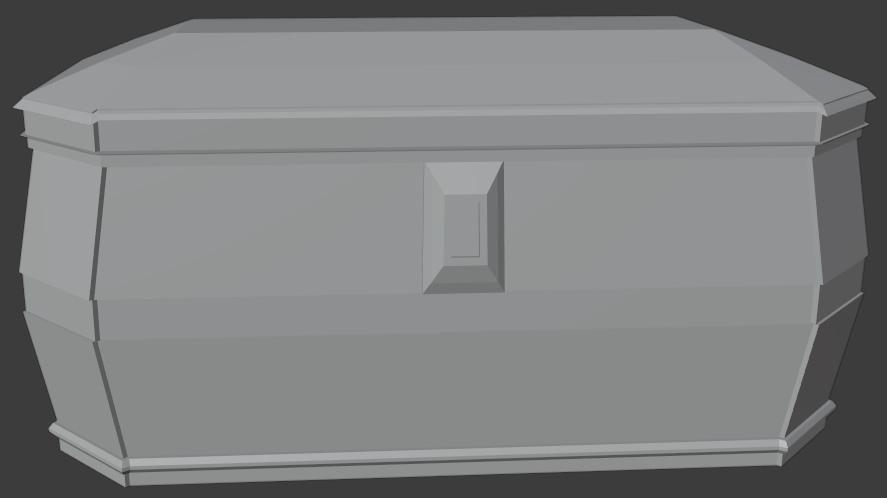 blender modeling lid
