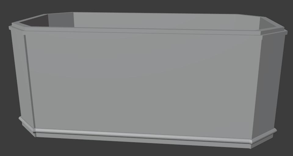blender modeling simple box