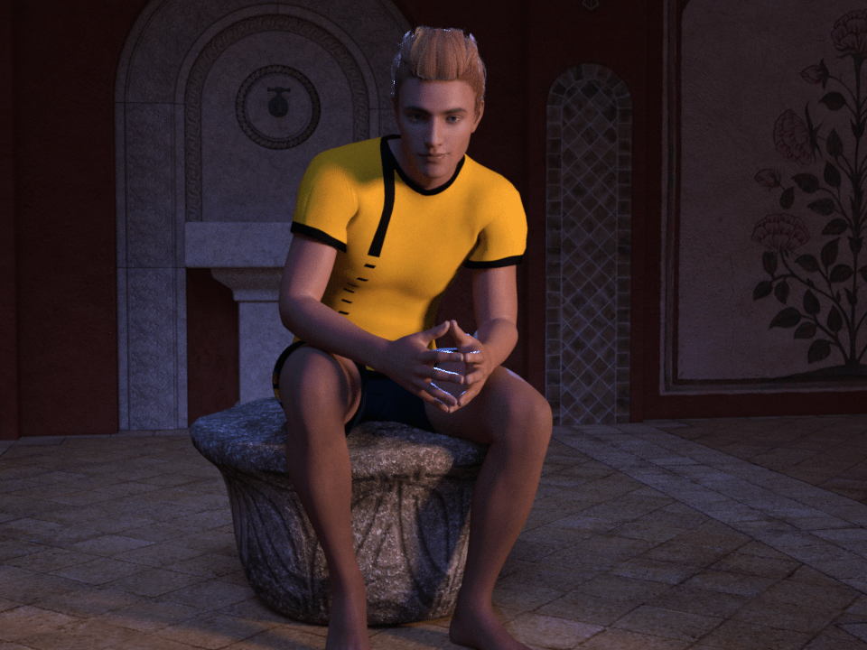 daz studio combined contrasted and day for night