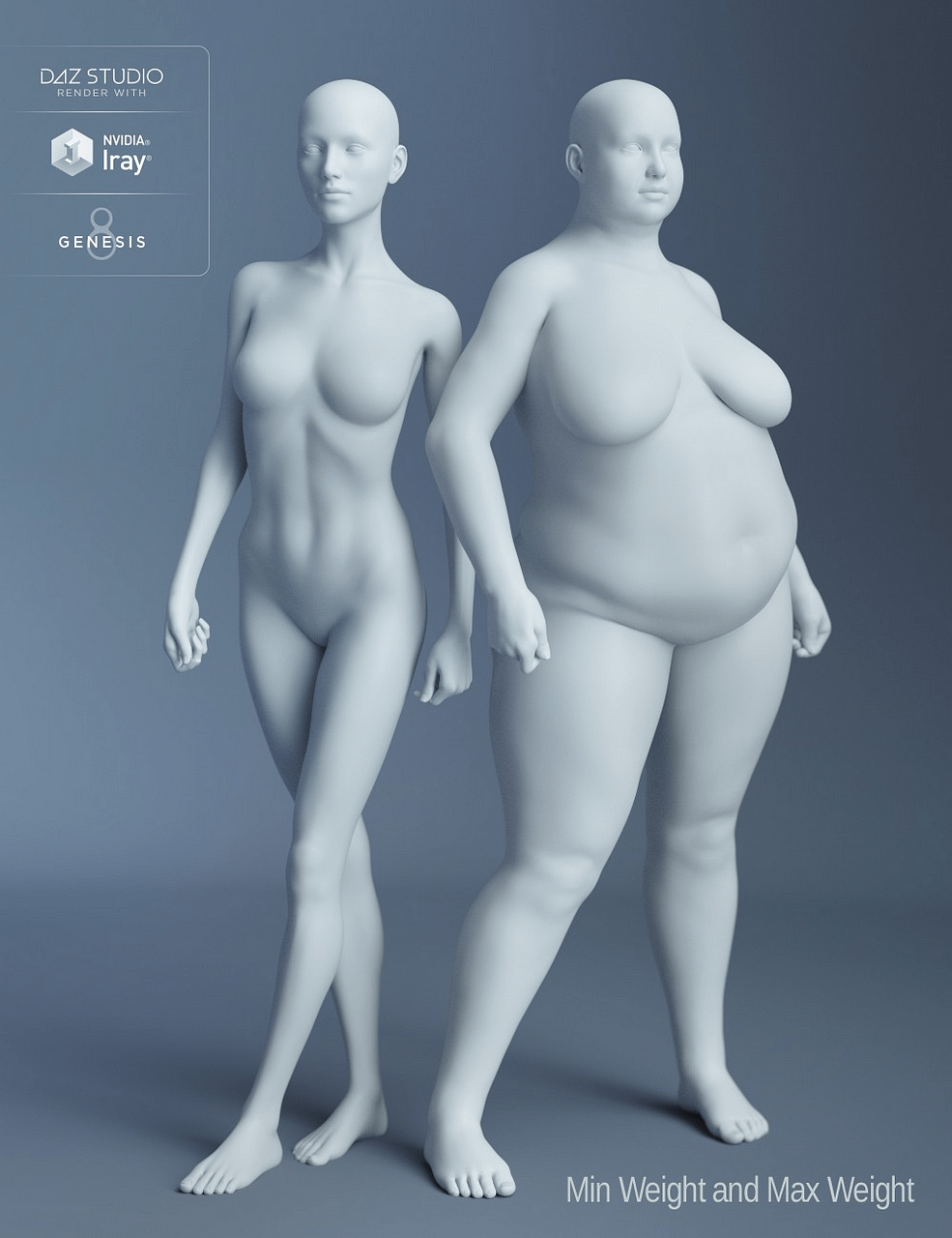 daz3d genesis 8 female body morphs