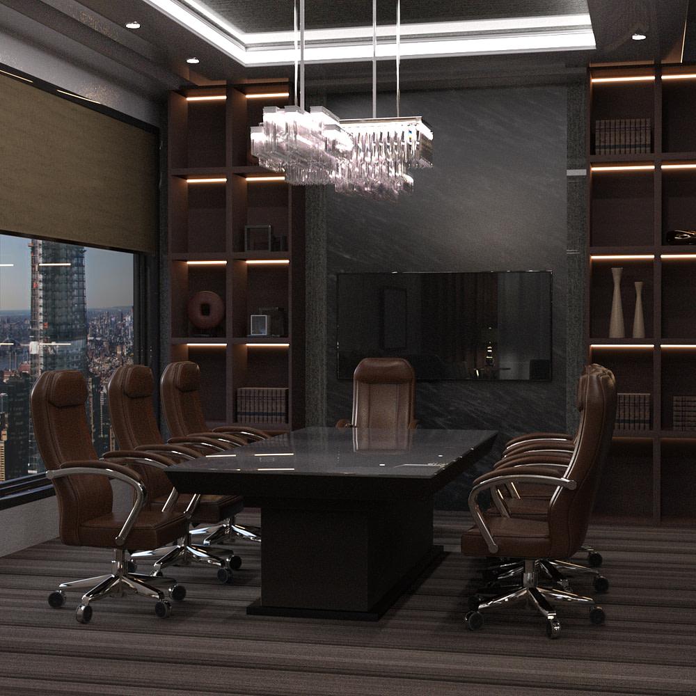 office meeting room 3d model