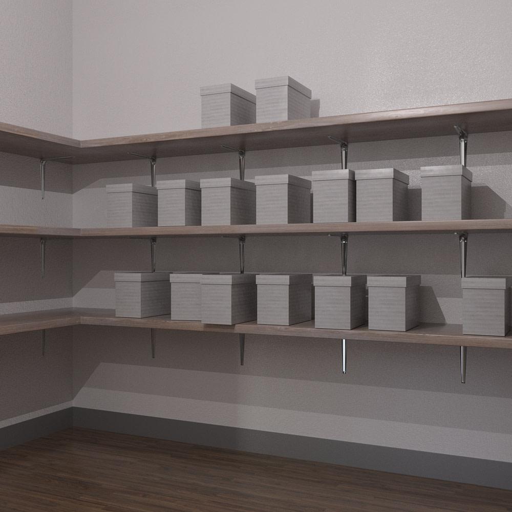 Storage room inside the office model