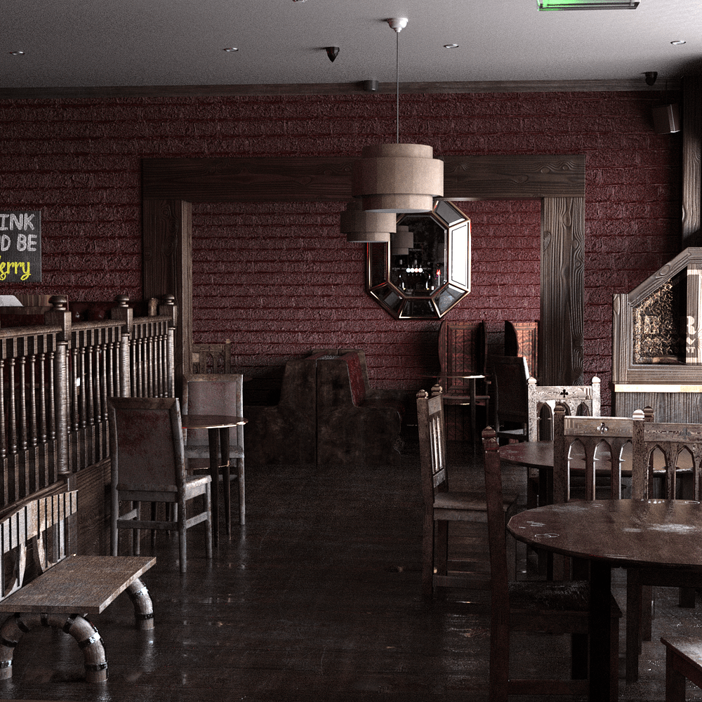 Another view of the bar interior