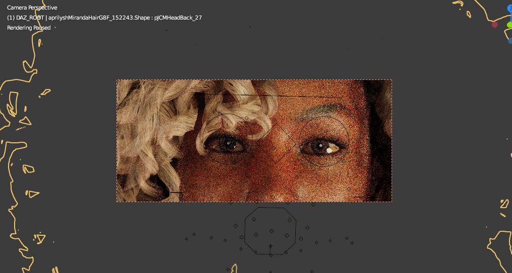 blender viewport segment render frame