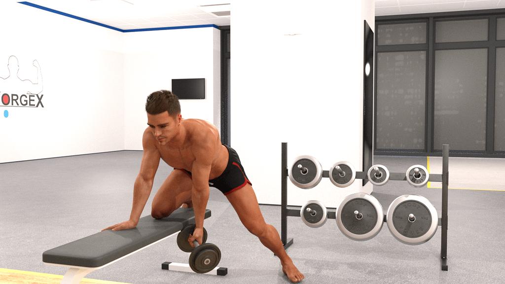 bobybuilder gym 3d model