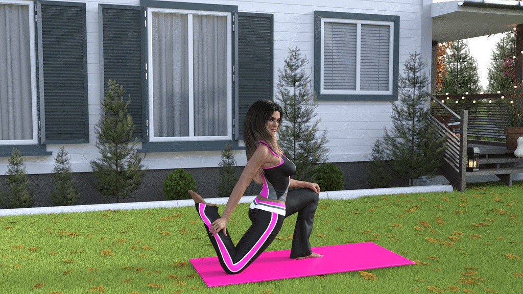 Fitness 3d poses