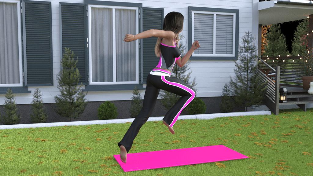 Sport 3d poses
