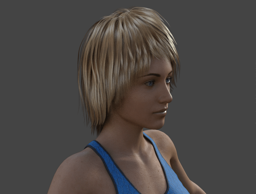 daz custom morph render