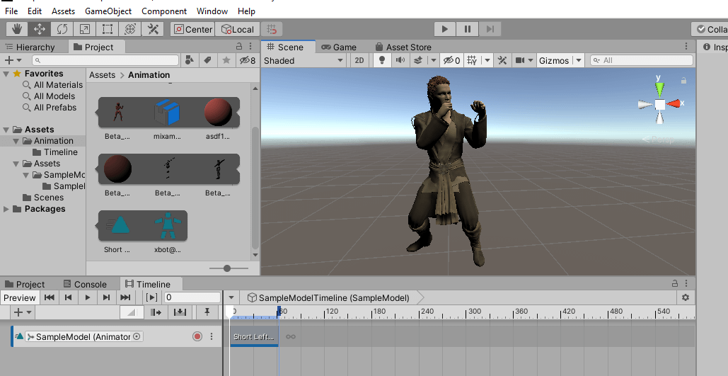 daz character animated in unity3d