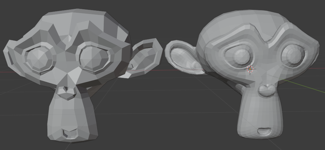 blender modifiers subdivision surface