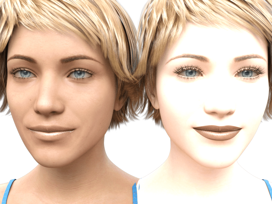daz3d genesis 8.1 skin comparison