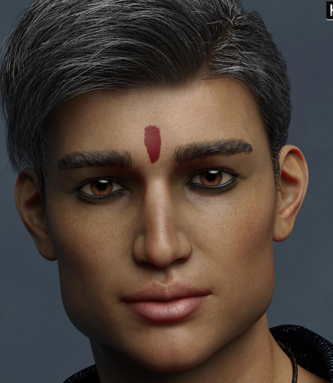 daz3d indian male devansh