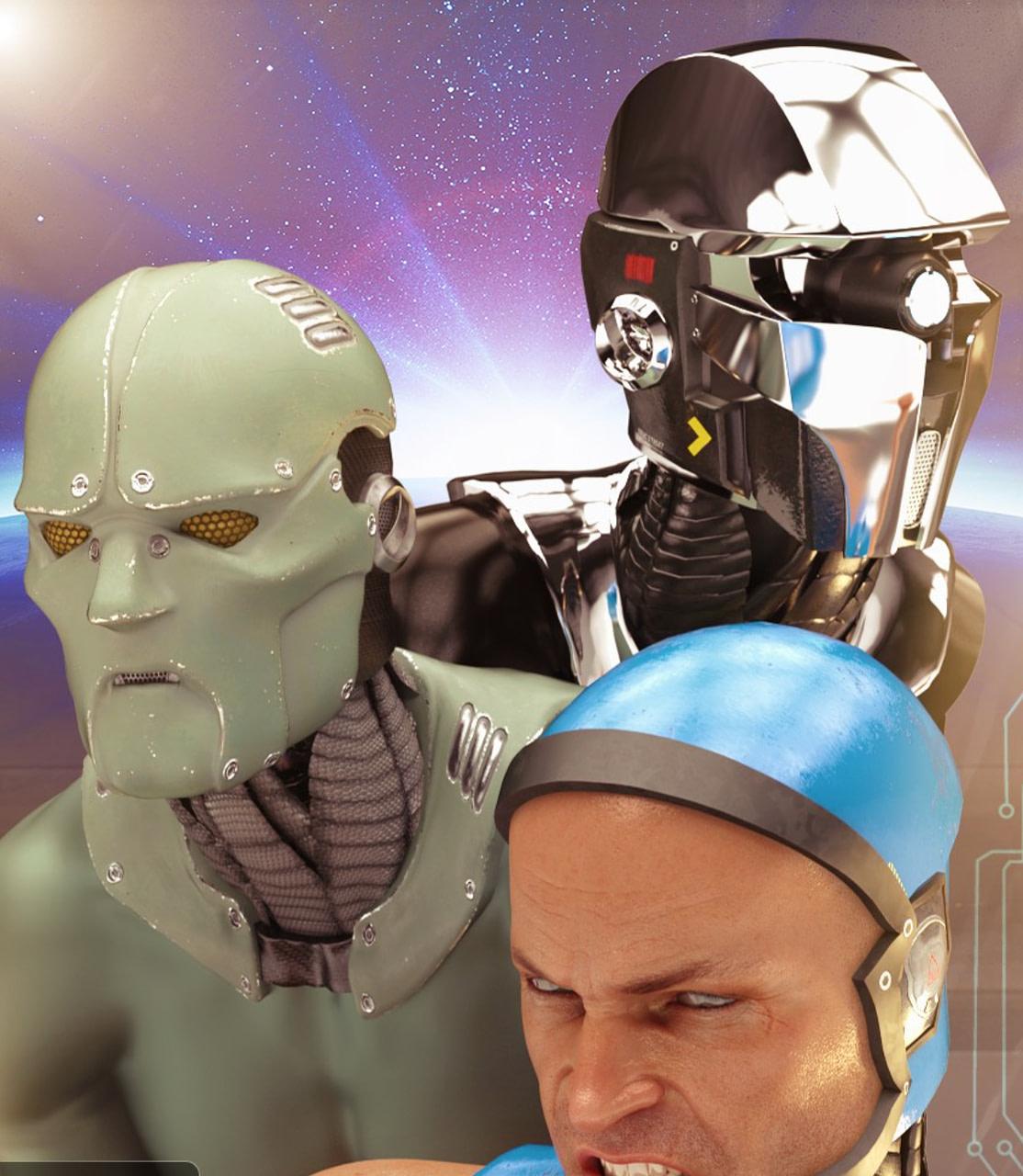 cyborg daz3d bundle