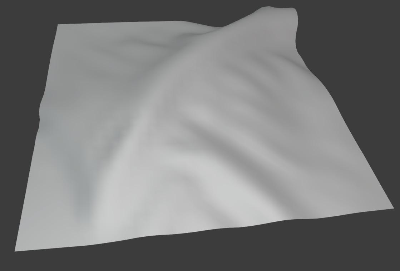 cloth brush pinch perpendicular deformation