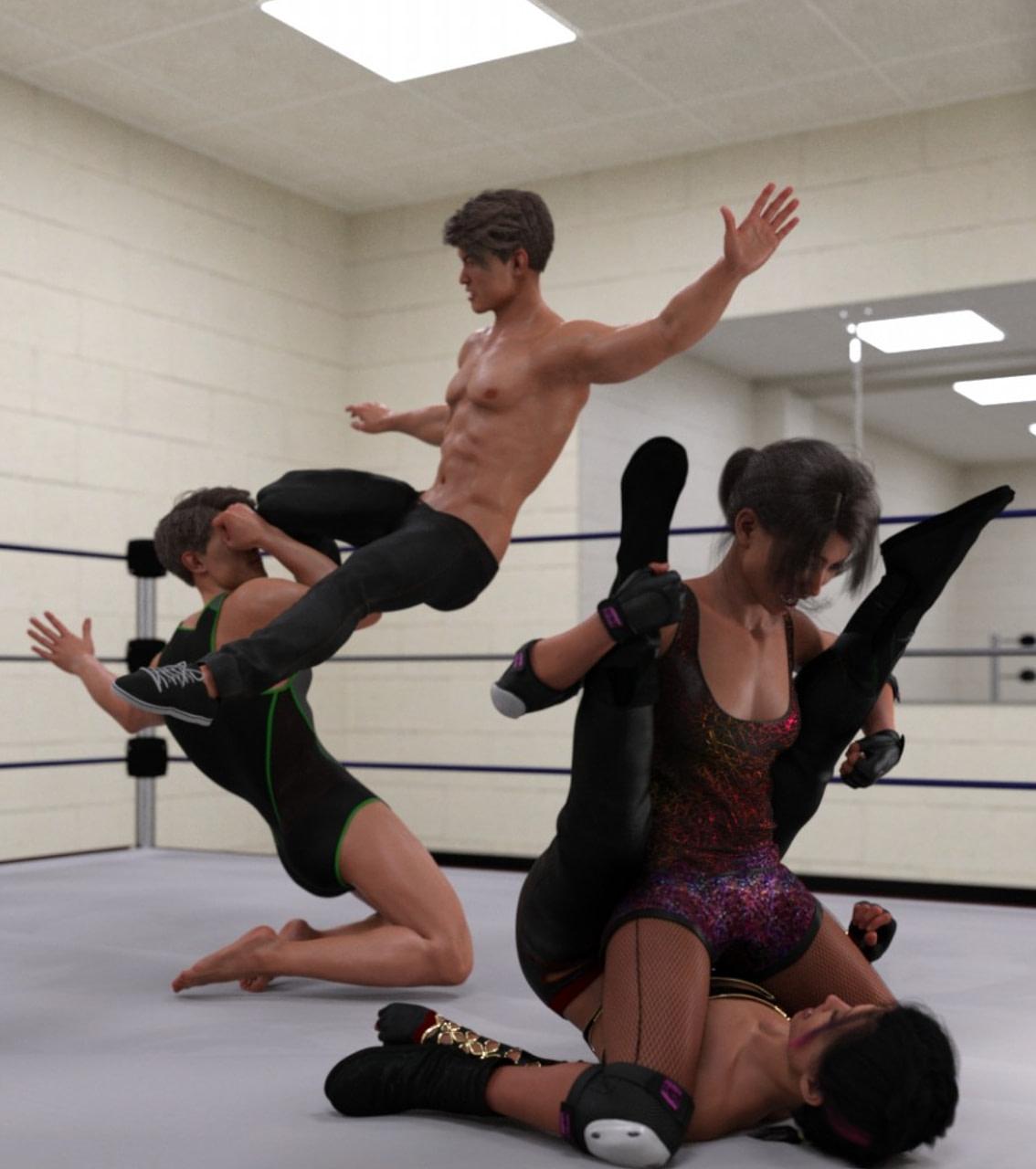 daz wrestling poses gen 88