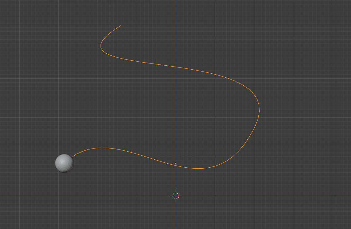 blender smoke effect animate path