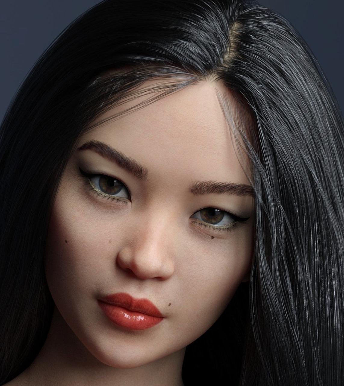 emiyo hd daz3d female asian