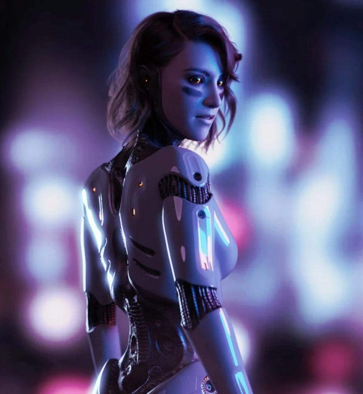 daz3d cyborg da 15y 3d model