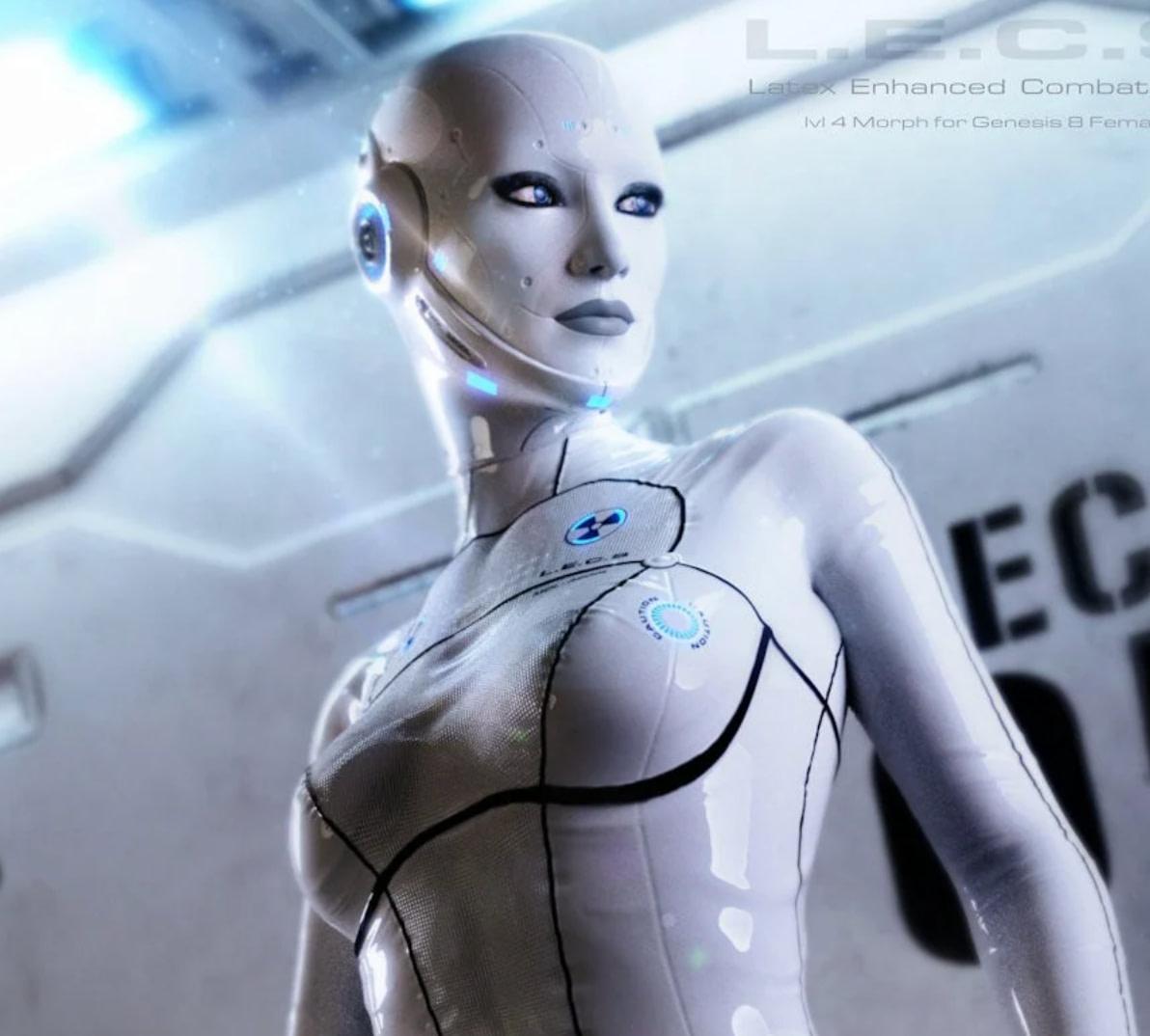 lecs daz3d cyborg